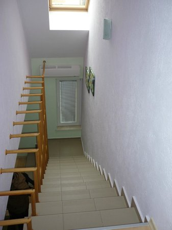Block 531 Aparthotel: internal staircase