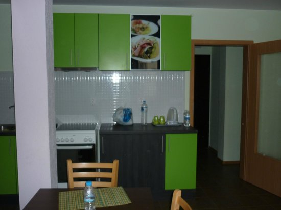 Block 531 Aparthotel: kitchen 1rst floor: fancy and equipped with the essentials