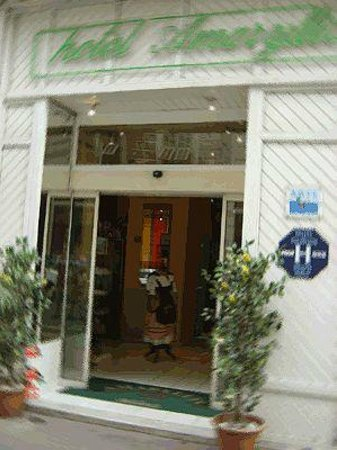 Hotel Amaryllis :                   Front Entrance