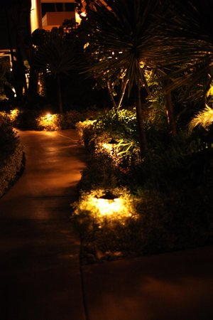 Pavilion Hotel: Beautiful pathways