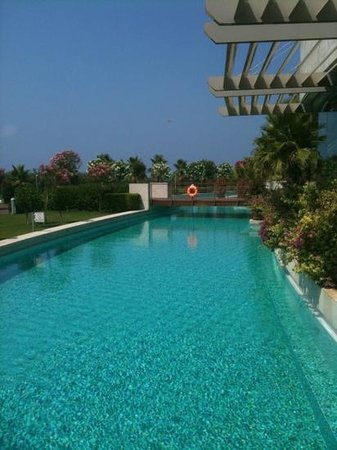 Select Villa: swimming pool around the hotel. you can jump from your room(if it is on the 1st floor)