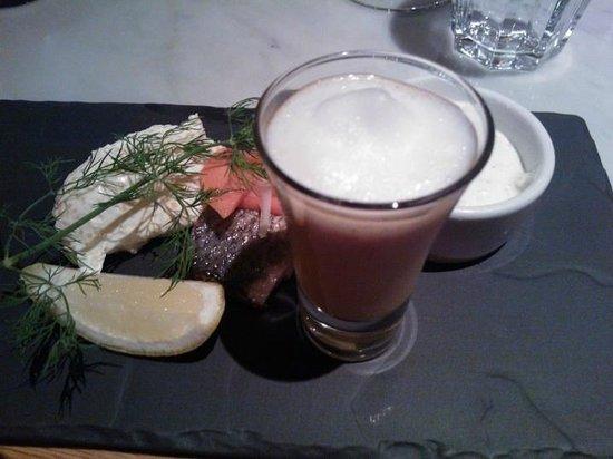 Scandic Simonkentta: Fish plate starter