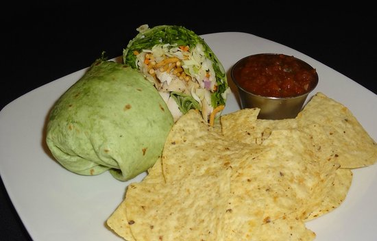 The Break Room: Asian Chicken Wrap with Chips & Salsa