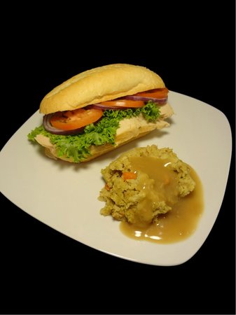 The Break Room: Hot Bar - Turkey Sandwich