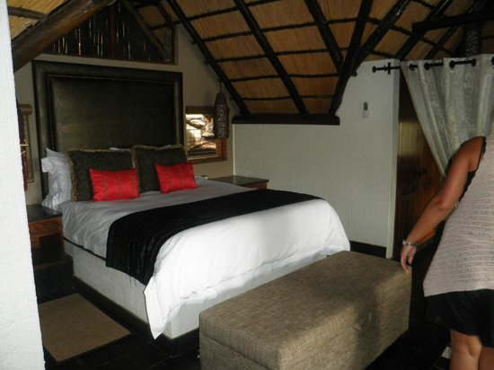 Tshukudu Bush Lodge : Our room