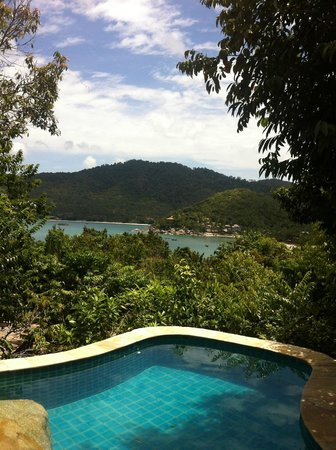 Santhiya Koh Phangan Resort & Spa: View from our pool villa