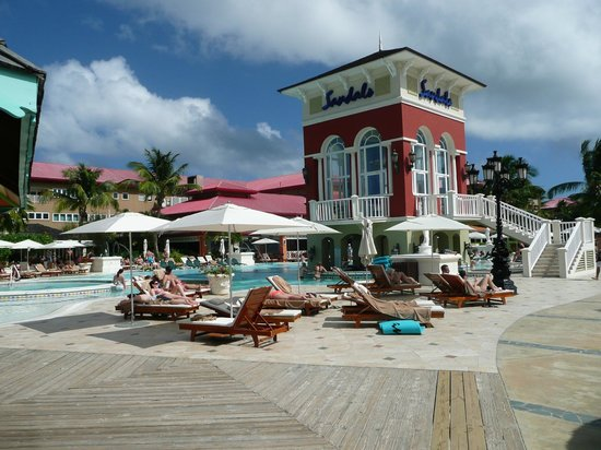 Sandals Grande St. Lucian Spa & Beach Resort: Anlage