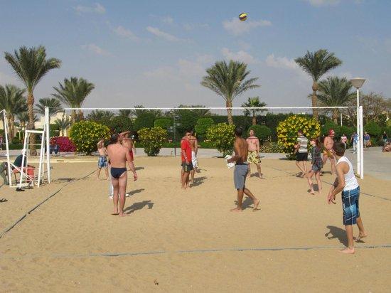 Tia Heights Makadi Bay:                                     Волейбол