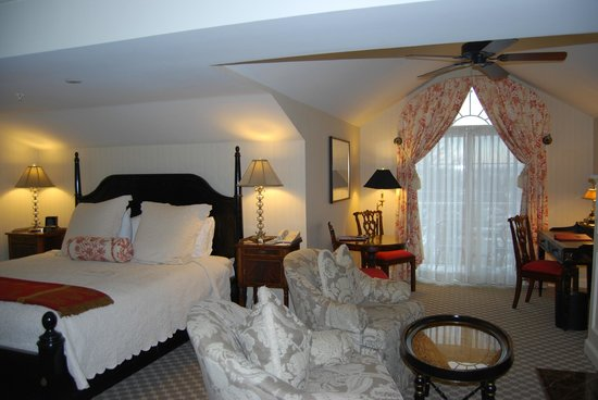 Saybrook Point Inn & Spa: chambre