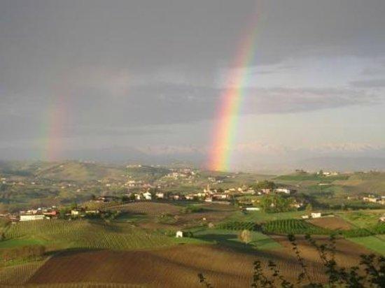 B&B La Casa Che Ride: 2 arcobaleni