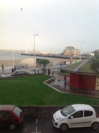 The Bourneville: view from our window