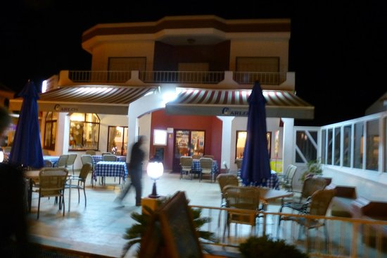 Restaurante Carlos : Front of the restaurant
