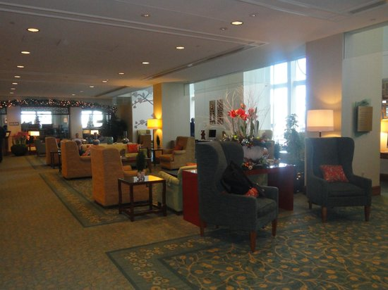 Seaport Boston Hotel lobby