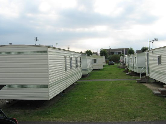 Eastern Beach Caravan Park: Nice and Clean looking vans