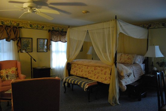 The Inn at Stockbridge: notre chambre