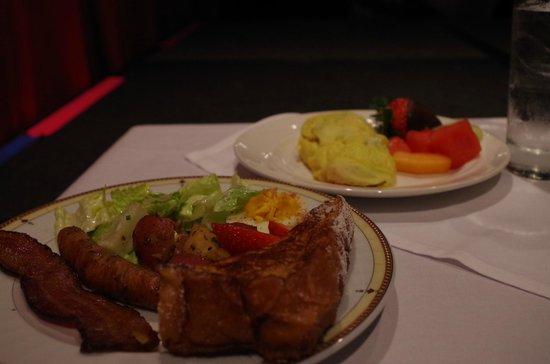 The Starlight Room: Wonderful food