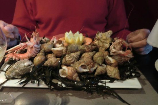 La Table Des Douets Fleuris : Fruits de mer