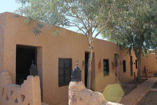 Kasbah Des Dunes: Las habitaciones exteriores