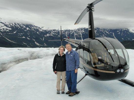 Hotel Alyeska: Trip to glacier