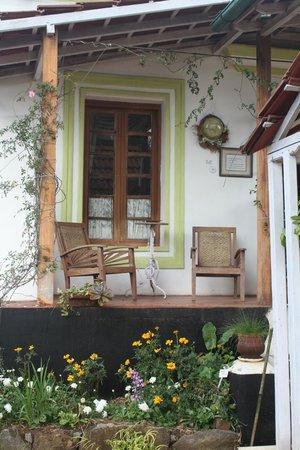 Lymond House: Relax on the veranda