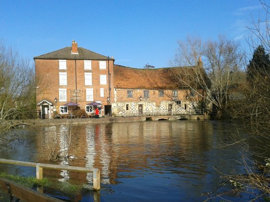 Salisbury Cathedral: The Old Mill Harnham