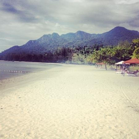 The Danna Langkawi, Malaysia: view along the beach