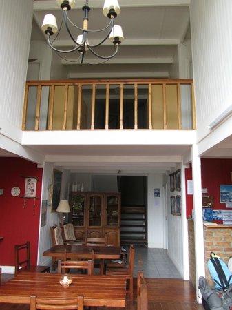 Hostel de las Manos: sala comune