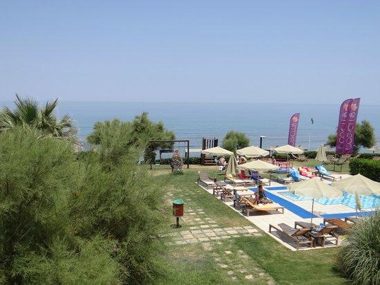 Club Marmara Rethymno Palace: vue de la chambre