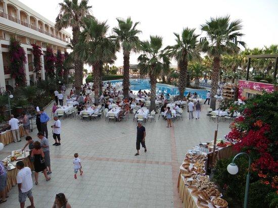 Rethymno Palace: repas du vendredi soir