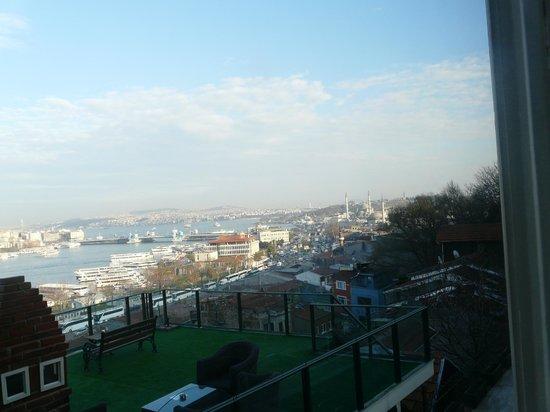 Hayriye Hanim Konagi Hotel: Vista dalla camera