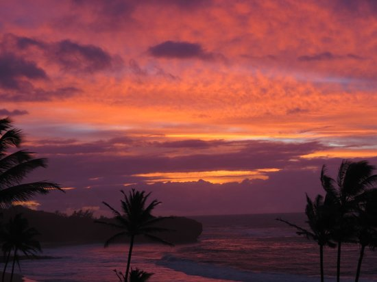Coastline Cottages Kauai: Sunrise