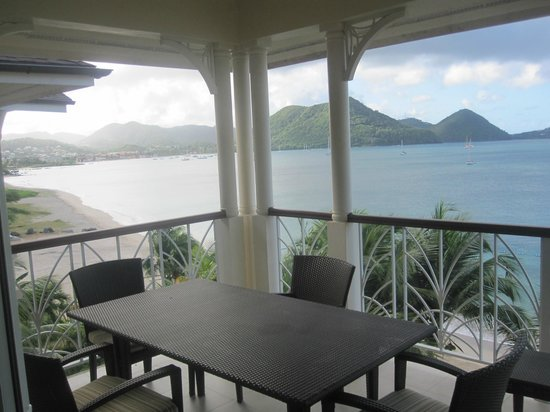 The Landings Resort & Spa St. Lucia : Our balconly