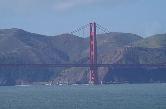 The Real S.F. Tour: Views of Golden Gate bridge