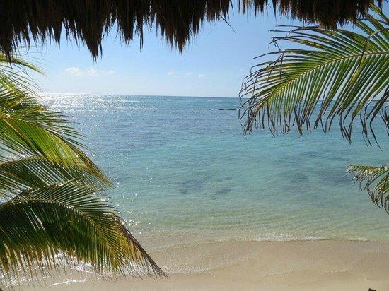 El Dorado Sensimar Riviera Maya: view from second level public beds