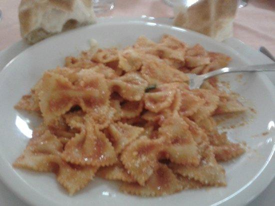 Casa Tra Noi: cena 1º plato