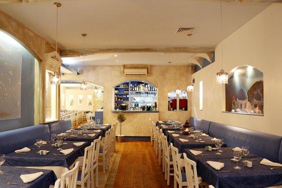 Ile de Crete : Le restaurant