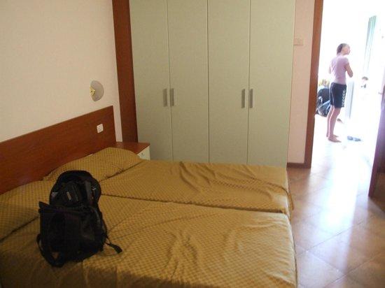 Campi Residence: Soveværelse med dobbeltseng