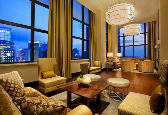 Duplex Suite Living Room Picture Of Sheraton New York