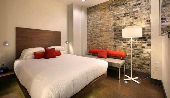 CityFlatsHotel: Single King Guestroom