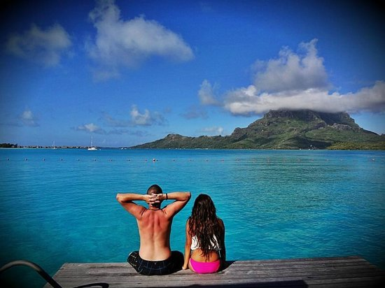 The St. Regis Bora Bora Resort: our amazing view again
