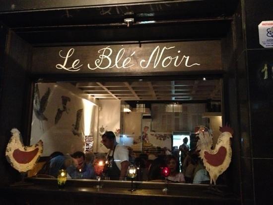 Le Ble Noir : the front
