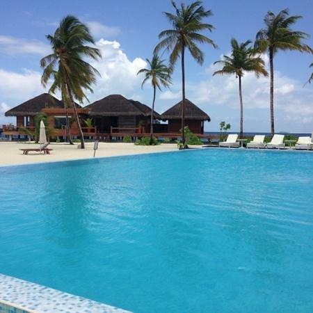 Maafushivaru: piscine + spa