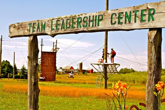 Door County, WI:                   SAFEST Zip Line Tour Location: Team Leadership Center in Sevastapol