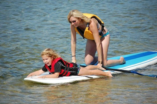 Door County, WI:                   Paddle Board with DC Adventure Center