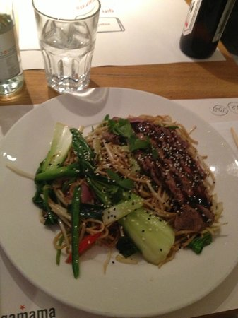 Wagamama - Earls Court:                   Steak Teriyaki Noodles