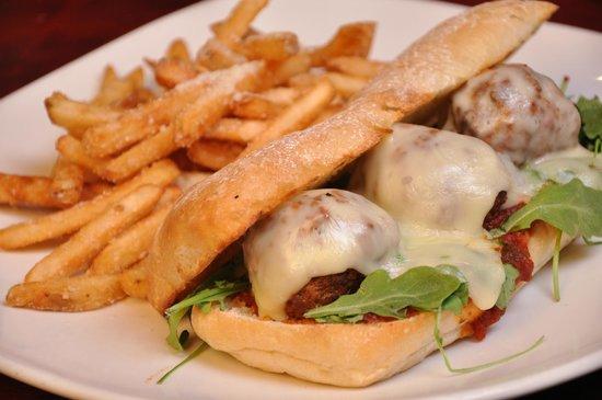 Spazzo Meatball Sandwich