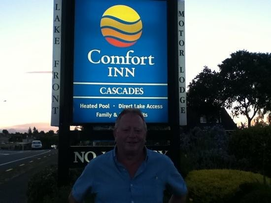 Comfort Inn Cascades: our last day