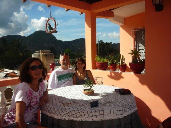 Villa Los Pandaderos: vista desde la terraza