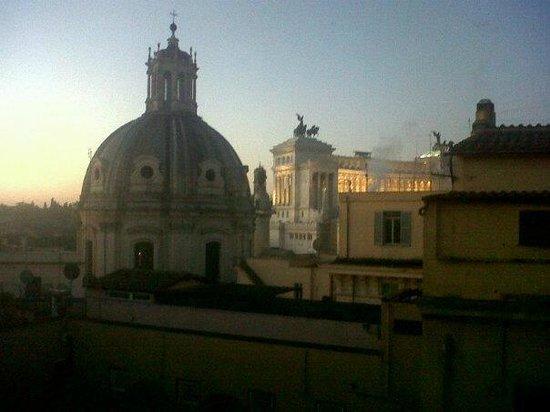Cosmopolita Hotel: veduta dalla mia camera! 