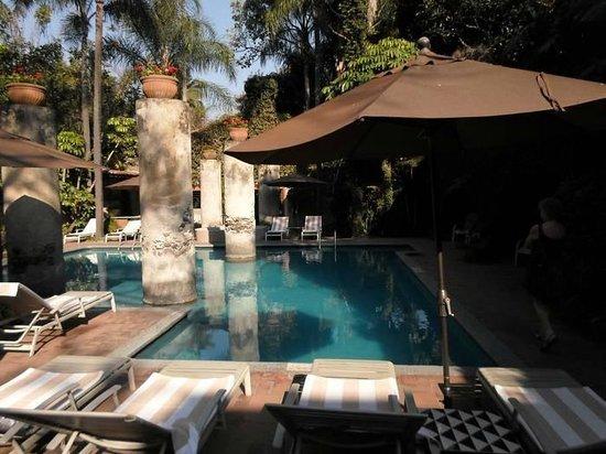 Hotel Hacienda de Cortes : Une vue sur la piscine